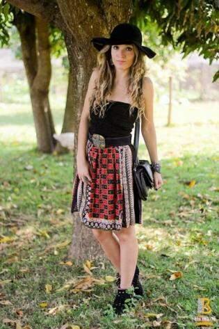 Chácara da família vira cenário para editorial de moda estilo hippie country