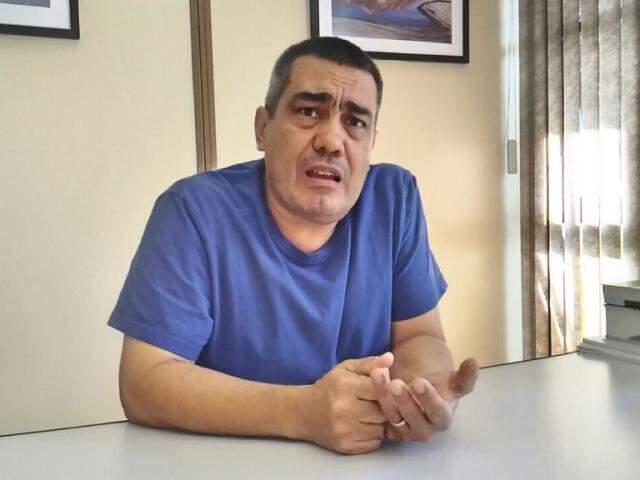Procurador de Mato Grosso Sul, Felipe Marcelo Gimenez é representante da Associação Pátria Brasil (Foto: Kleber Clajus)