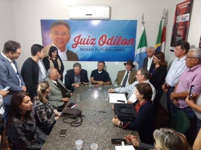 Odilon terá dois aliados, após indefinições para definição de chapa majoritária (Foto: Assessoria - PDT)
