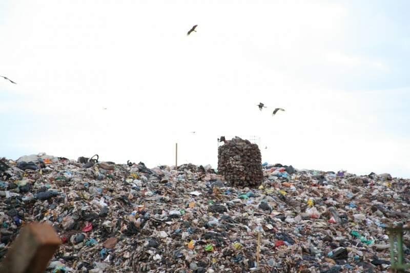 Aterro sanitário é critério para obtenção do ICMS Ecológico (Foto: Arquivo/Marcos Ermínio)
