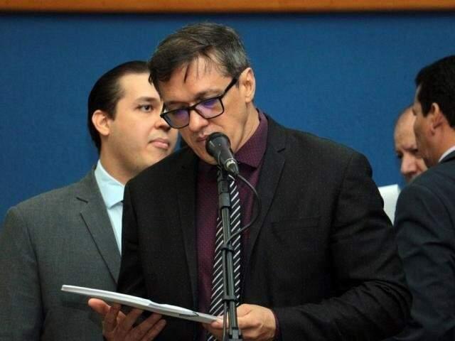 Lucas de Lima foi condenado por apropriação indébita no TRF-3 antes de registrar candidatura; juiz quer que informação seja investigada. (Foto: Divulgação)