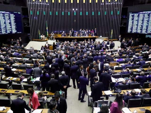 Após aprovar texto-base, deputados analisam destaques na proposta de reforma da previdência. (Foto: Luís Macedo/Câmara dos Deputados)