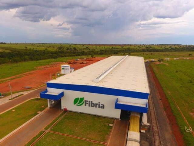 Vista do Terminal Intermodal em Aparecida do Taboado, investimento de R$ 65 milhões, da empresa Fibria (Foto: Divulgação/Fibria)