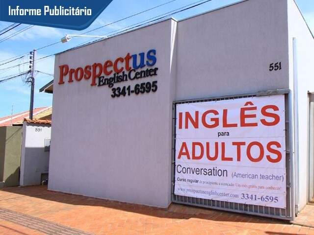 Prospectus English Center fica na Rua do Bolívar, 551 - Vilas Boas - quase esquina com Bom Pastor. Foto Marcos Ermínio
