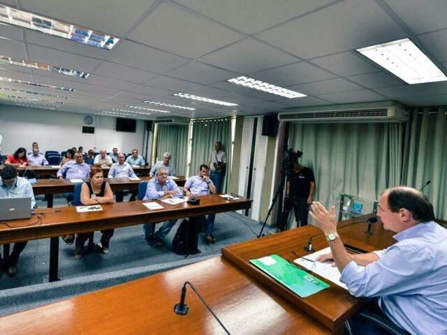 Secretário anunciou os investimentos durante reunião do Conselho Estadual das Cidades, esta semana. (Foto: Divulgação)