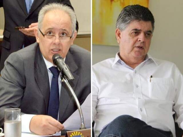 Deputado estadual, Flávio Kayatt e secretario Márcio Monteiro (Foto: Montagem - CG News)