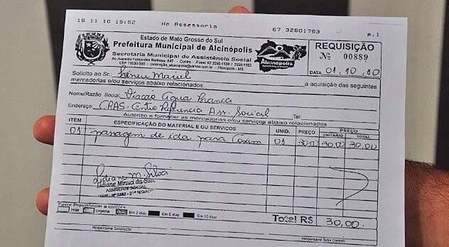 Secretária acredita em conspiração para tentar incriminar prefeito de Alcinópolis