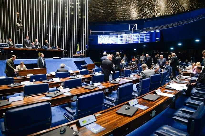 Senadores aprovaram proposta nesta tarde. (Foto: Senado)