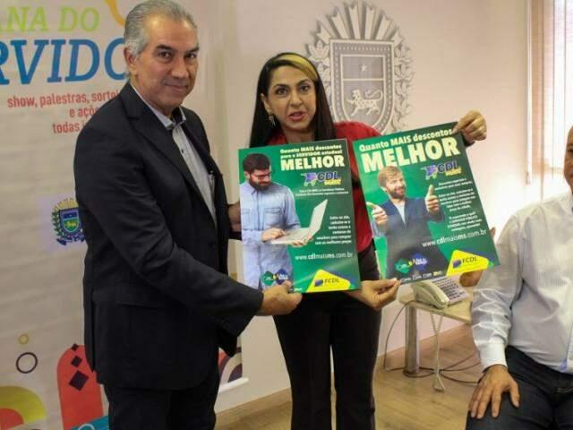 Convênio e campanha que prevê descontos para servidores foram apresentadas pelo governador nesta segunda-feira. (Foto: Subcom/Divulgação)
