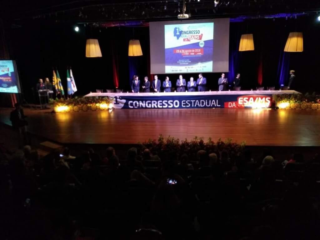 Congresso começou nesta quinta-feira (23) e vai até sexta-feira (24) (Kleber Clajus)