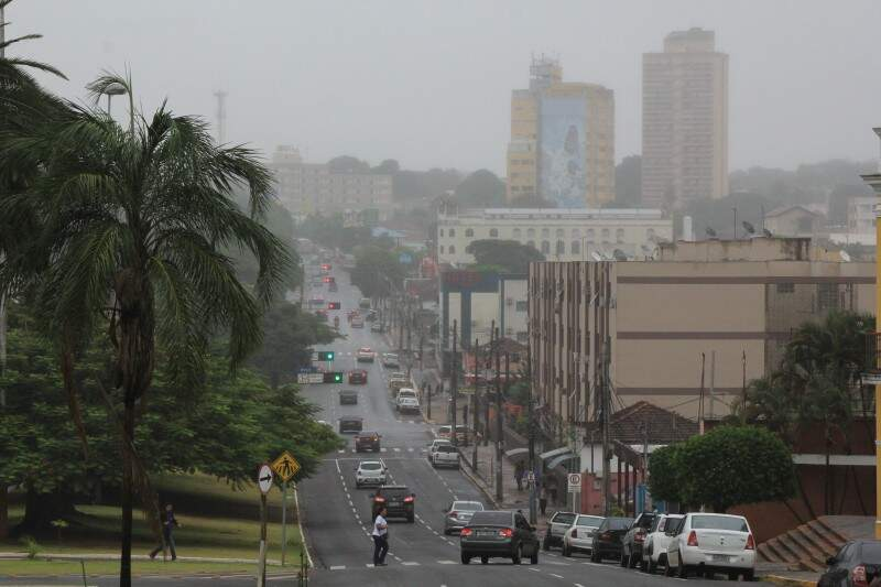 Na Capital, a sensação térmica na manhã desta quinta-feira (28) foi de -1ºC. (Foto:  Marcos Ermínio)