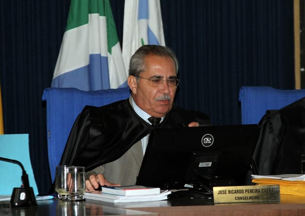 José Ricardo Cabral também se aposentou no TCE (Foto: Divulgação - TCE)