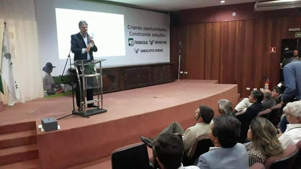 Secretário estadual de Meio Ambiente, Desenvolvimento Econômico, Produção e Agricultura Familiar, Jaime Verruck (Foto: divulgação / Semagro)