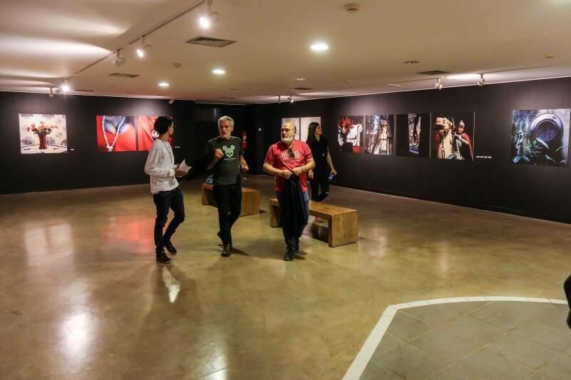 A exposição acontece até o dia 21 de agosto no Marco. (Foto: Fernando Antunes)