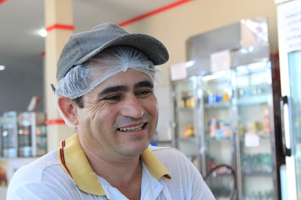 Asiel Pereira da Silva, 43 anos (Foto: Marina Pacheco)