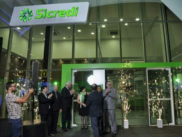 Nova agência é a 16ª da Sicredi em Campo Grande. (Fotos: Divulgação)