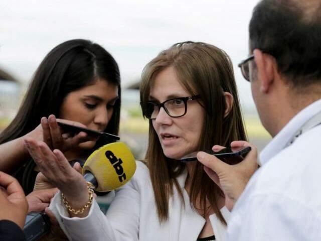 Laura Casuso revelou em áudios que sabia do envolvimento de autoridades com o crime organizado (Foto: ABC Color)