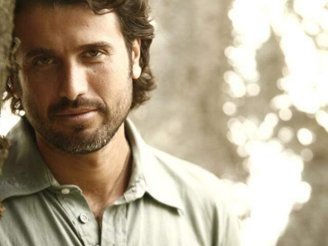 O ator Eriberto Leão estará em Campo Grande para o lançamento da loja.