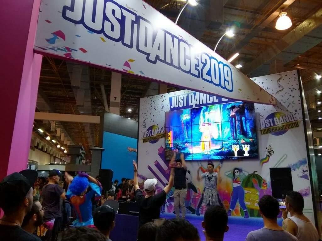 BGS Just Dance. (Foto: Brasil Game Show)