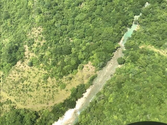Área próxima a uma das nascentes do Rio Salobra, na Serra da Bodoquena (Foto: Divulgação/IHP)