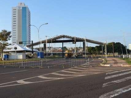 Avenida Afonso Pena e 14 de julho estão interditadas; confira os desvios