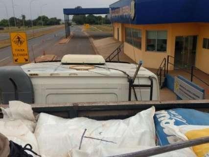 Motorista preso com 2 toneladas de agrotóxicos é multado em R$ 150 mil