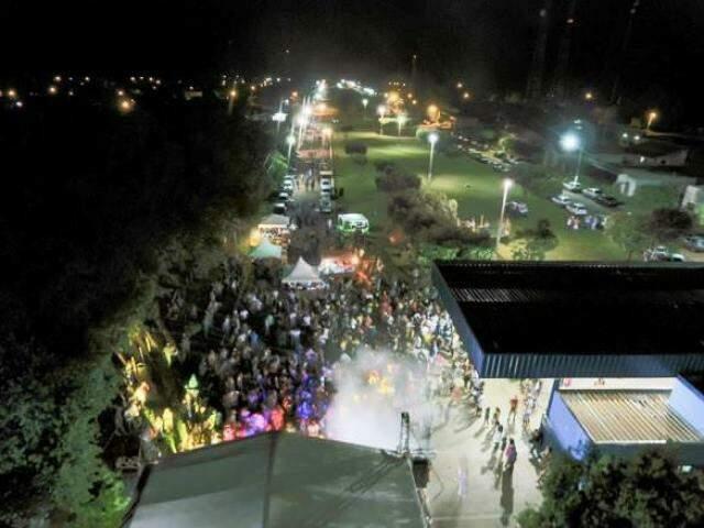 Em 2018, foram dois dias de DIB Folia, para buritienses pularem e brincarem o Carnaval 2018. (Foto: Luiz Felipe Pereira Mendes)