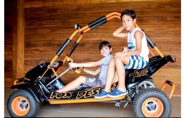Para os meninos, a Lalu tem muitas peças confortáveis (Foto: divulgação).