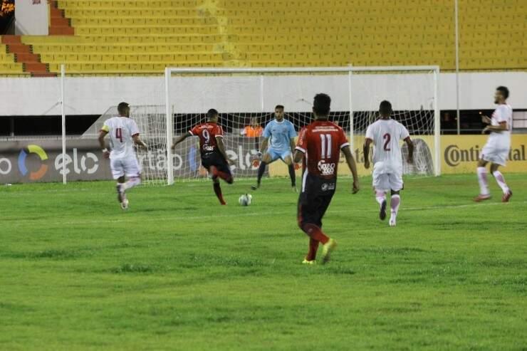 O Comercial perdeu de 1 a 0 para o Joinville no Morenão e foi eliminado da Copa do Brasil (Foto: Joinville/Divulgação)