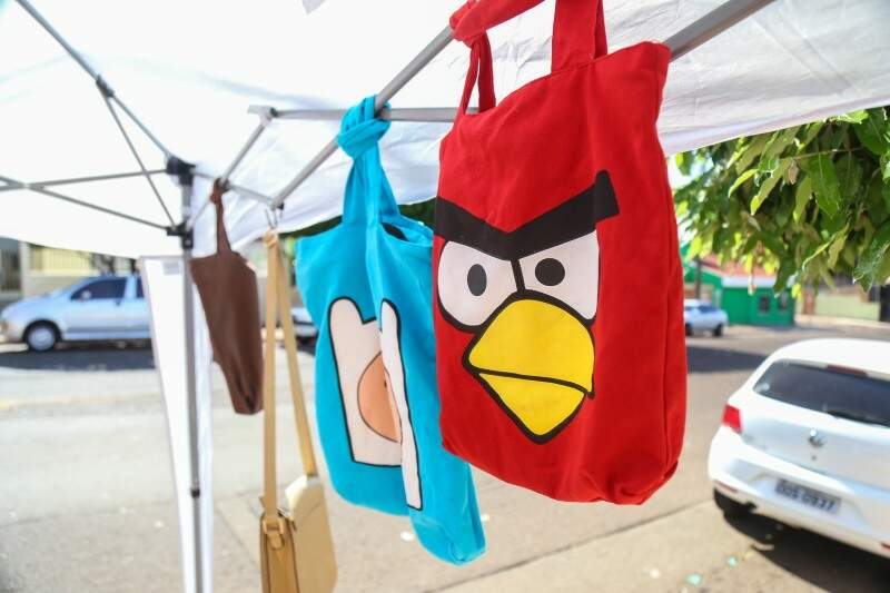 A bolsa do Angry Birds custa apenas R$ 25. (Foto: Fernando Antunes)