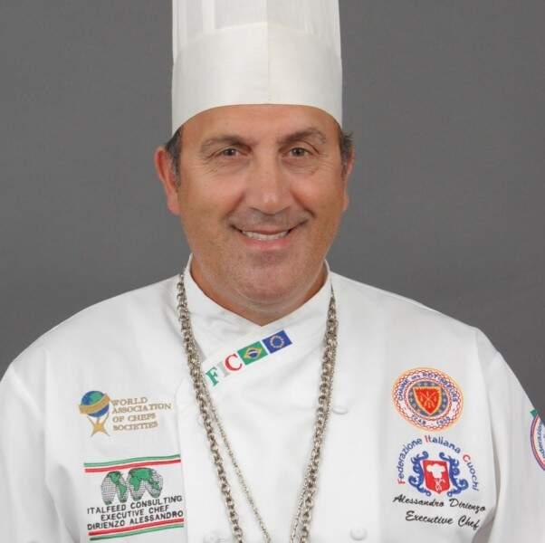 Chef Dirienzo  Alessandro- Foto Divulgação