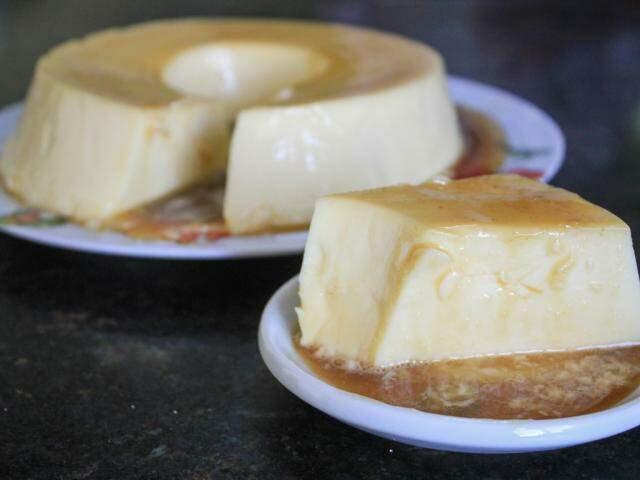 O pudim é uma opção de sobremesa rápida para quem gosta de doce (Foto: Marina Pacheco)