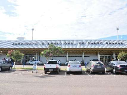 Aeroporto da Capital está aberto para pouso e decolagem neste domingo