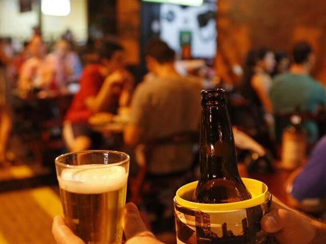 Se a cerveja tiver até 0,5% de álcool ela pode ser considerada não alcoólica (Foto: Gerson Walber)