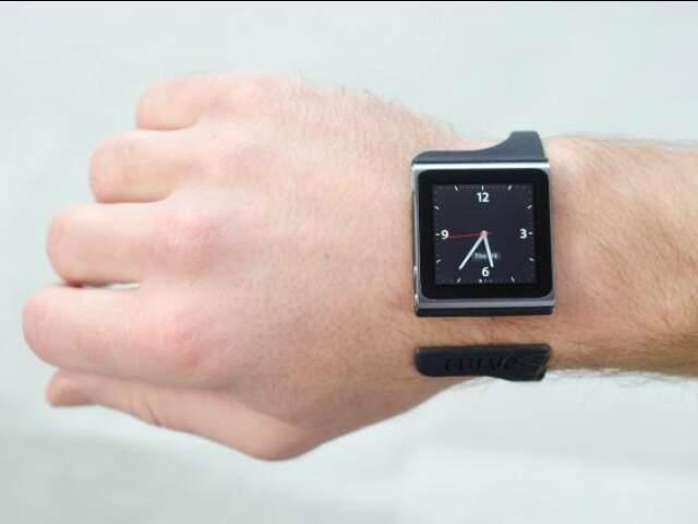 Dois modismos tecnológicos em um: Nanolet é um bracelete para iPod