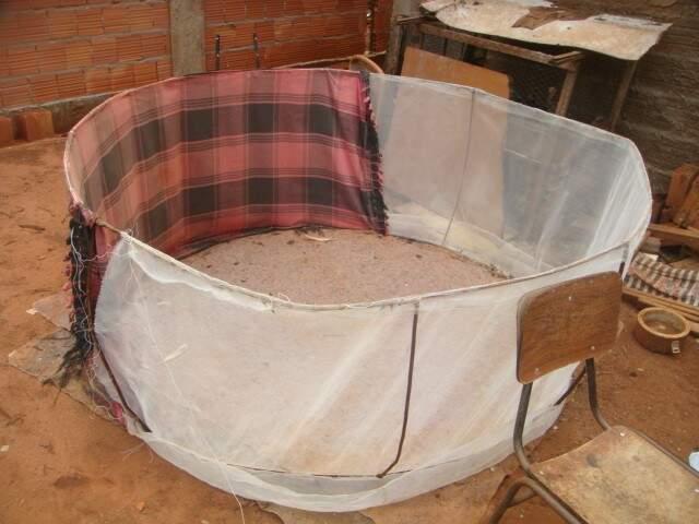 Arena funcionava no quintal de uma casa no bairro Danúbio Azul, em Campo Grande