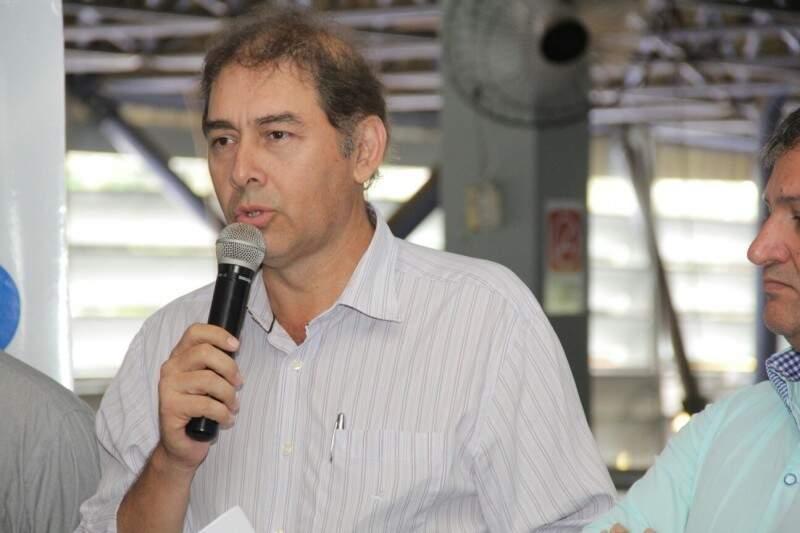 Prefeito de Campo Grande, Alcides Bernal (PP).(Foto: Arquivo)
