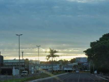 Inmet prevê quarta-feira com sol entre nuvens e pancadas de chuva em MS