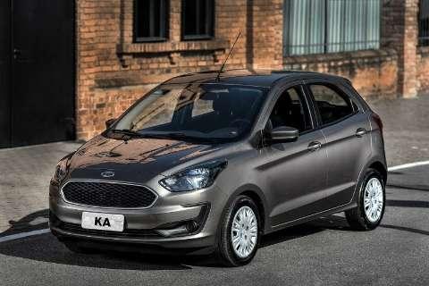 Ford faz recall do Ka por problemas no Airbag