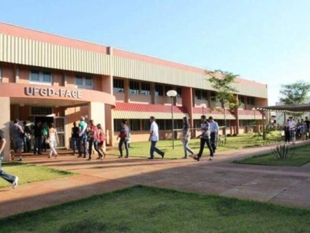 Entrada da Universidade Federal da Grande Dourados (Foto: Divulgação)