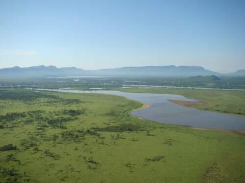 Fatores que determinaram a cheia deste ano estão relacionados ao estado atual da água na planície pantaneira. (Foto: Divulgação).
