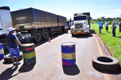 União pode acionar Força Nacional se caminhoneiros não deixarem protesto