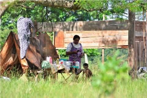 Índios continuam em três sítios e proprietários aguardam reintegração