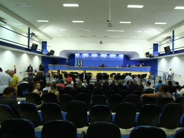 Câmara Municipal de Campo Grande. (Foto: André Bittar/Arquivo).