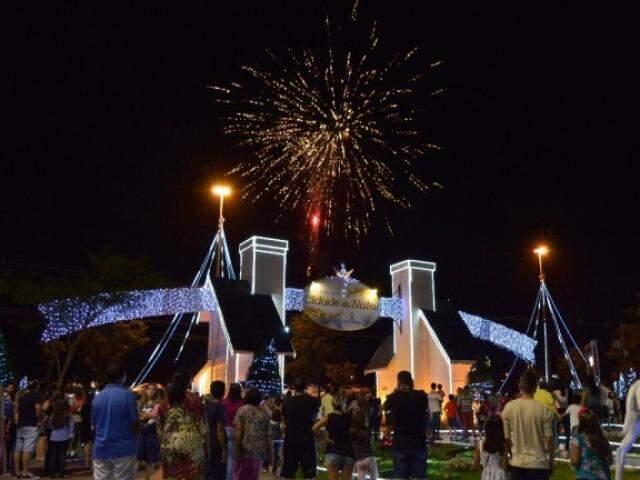 Eventos da prefeitura não terão mais fogos de artifício (Foto: PMCG/Divulgação)