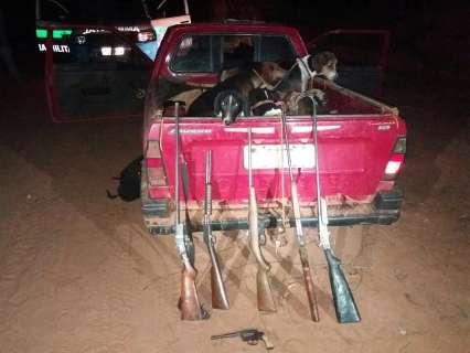 Após flagrante, cachorros de caça ficarão com proprietário deles