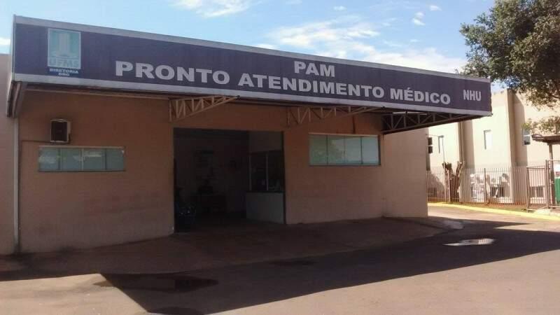 PAM tem capacidade para 26 pacientes, mas tinha 62 no dia da vistoria.  (Foto: Alcides Bernal)