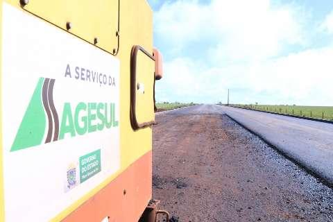 Governo investe na agricultura familiar de Sidrolândia com melhoria das estradas