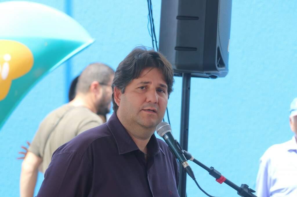 José Mauro Filho, secretário municipal de saúde (Foto: Marcos Maluf)