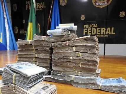 PF encontra R$ 150 mil com casal suspeito de lavagem de dinheiro